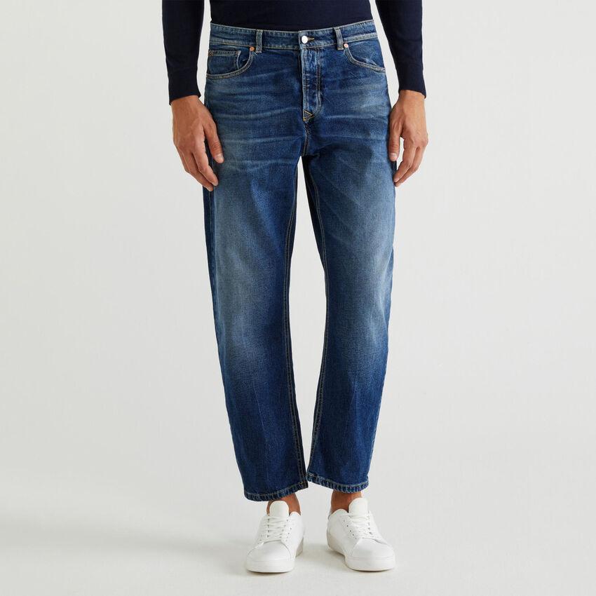 Worn look jeans