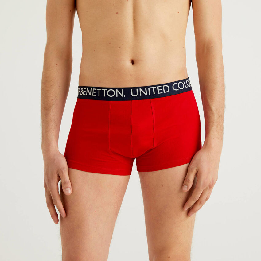 Boxers in stretch organic cotton