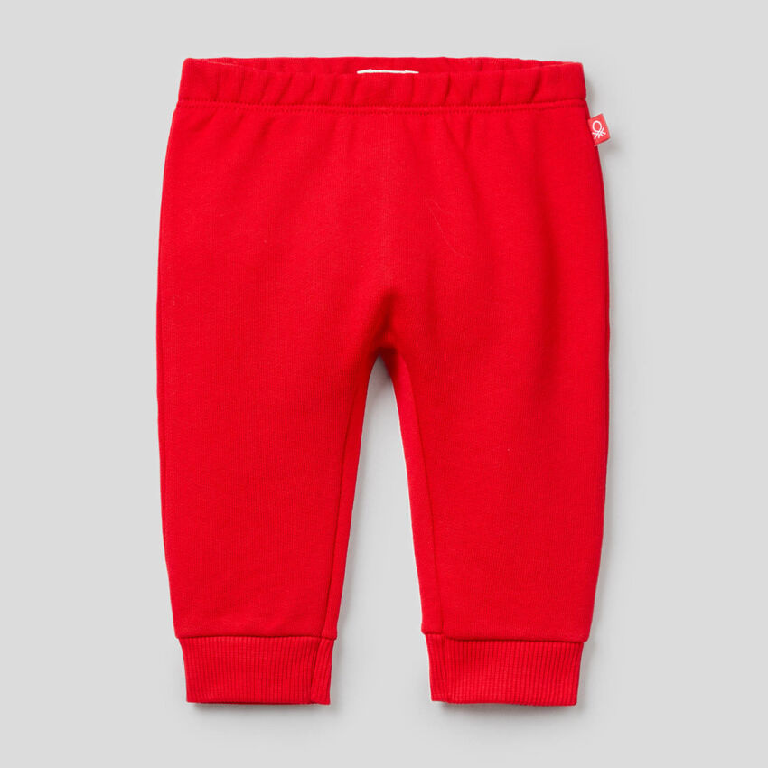Sweatpants in organic cotton