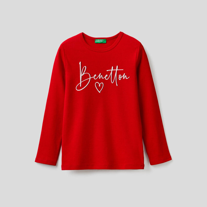 Long sleeve t-shirt with logo