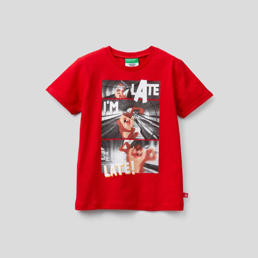 Organic cotton Tasmanian Devil t-shirt