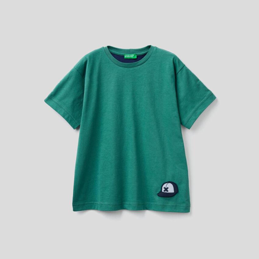100% cotton t-shirt with slogan