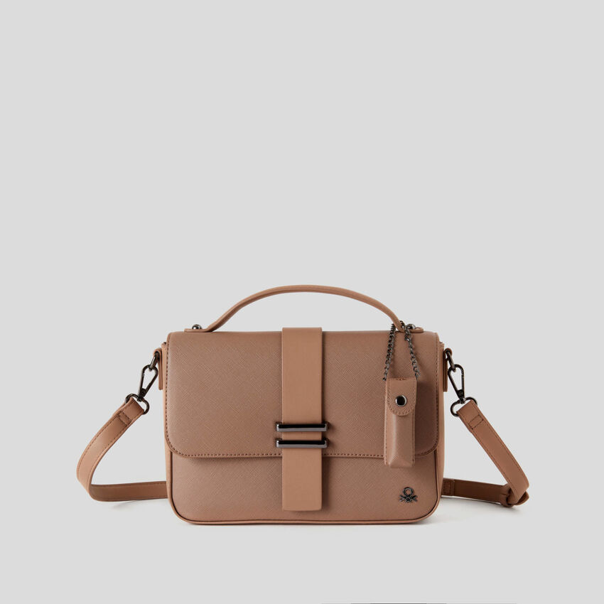 Crossbody bag with charm