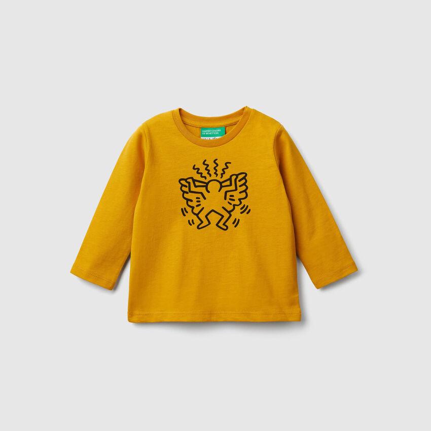 """""""Keith Haring"""" print t-shirt"""