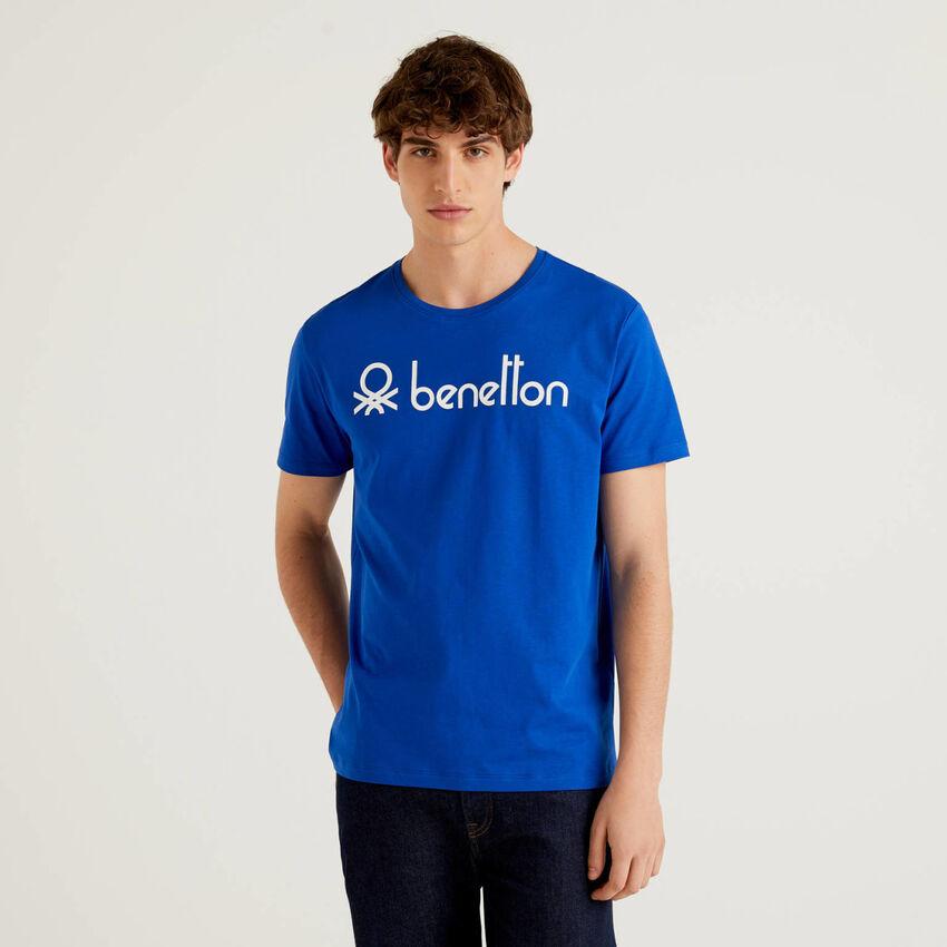 Short sleeve t-shirt with logo print