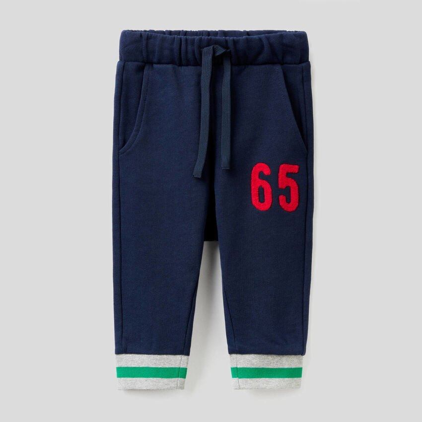 Sweatpants with embroidery