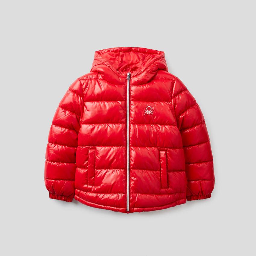 Shiny padded jacket