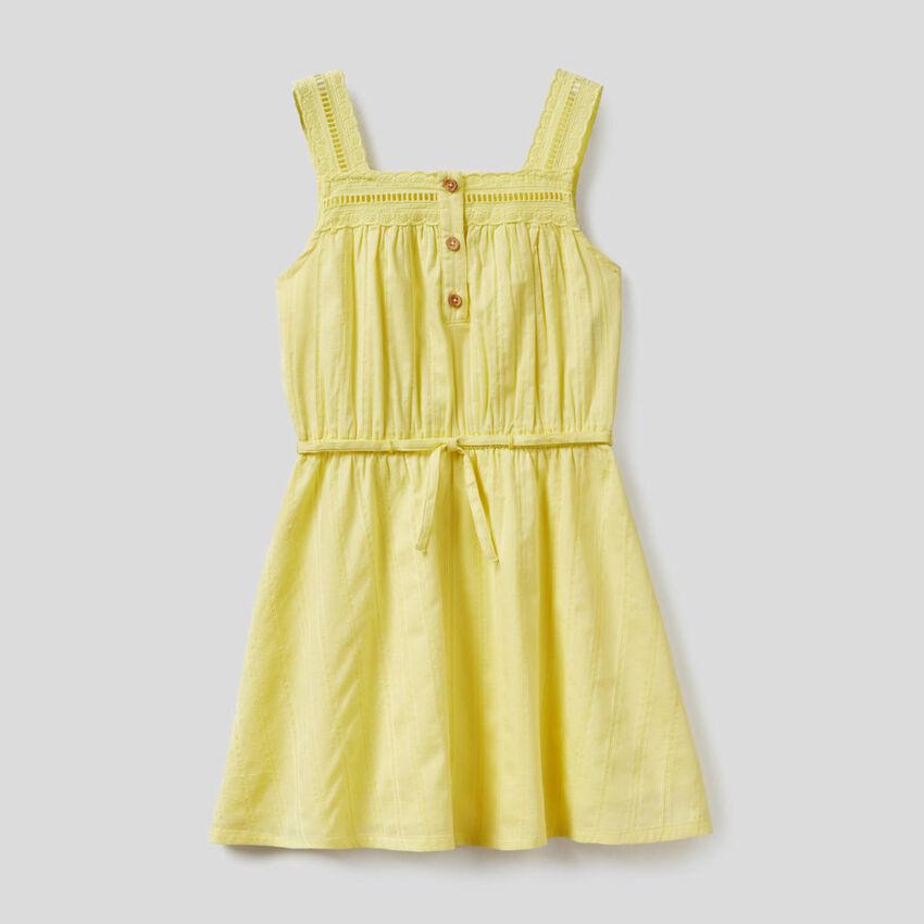 100% cotton lightweight dress