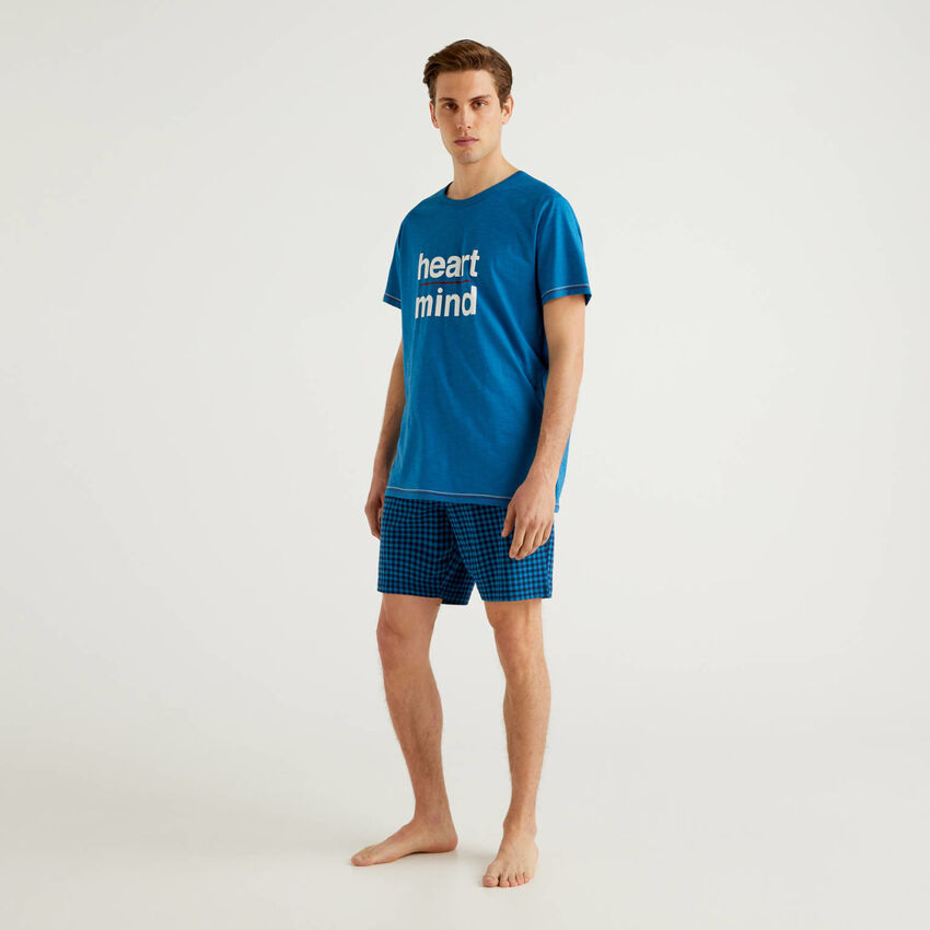 T-shirt and bermuda pyjamas