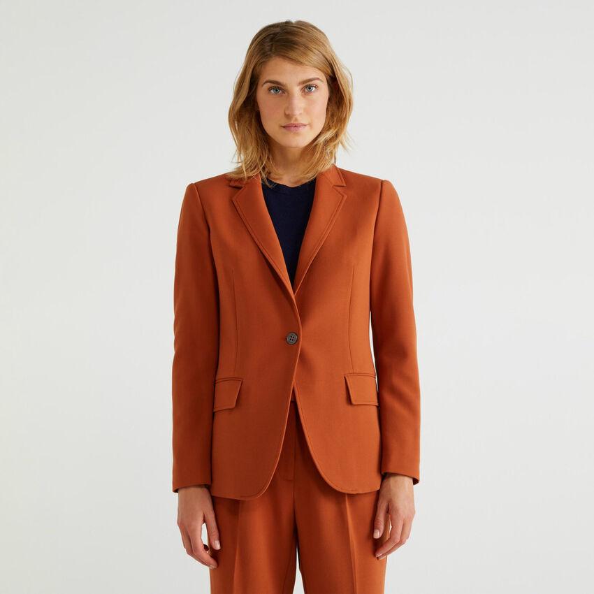 Waisted blazer