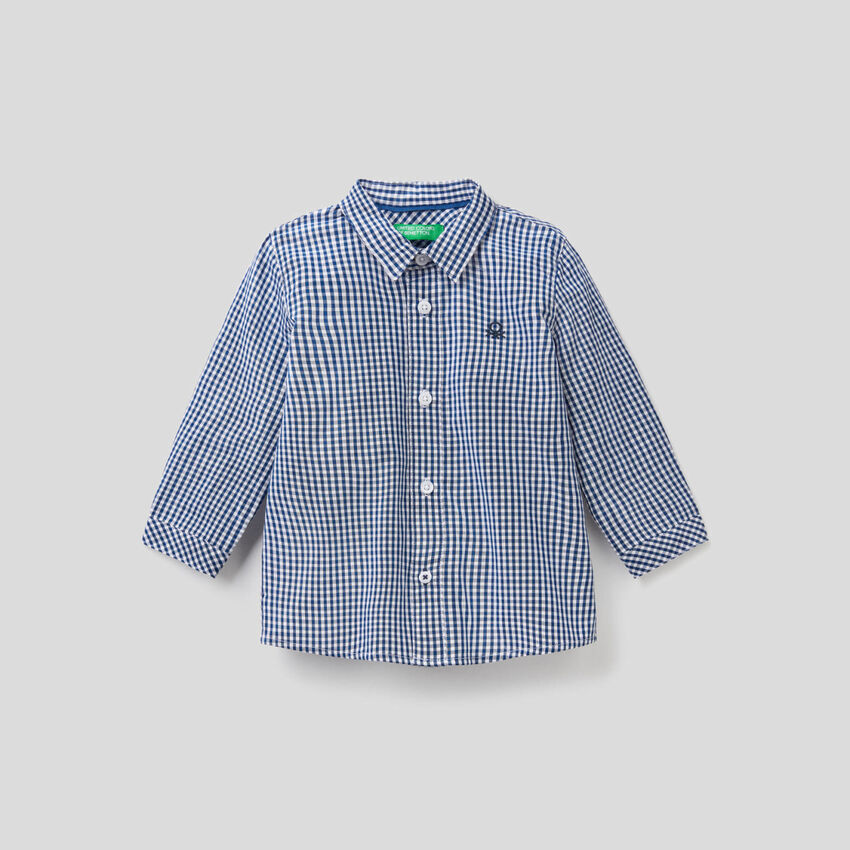 Shirt in pure cotton