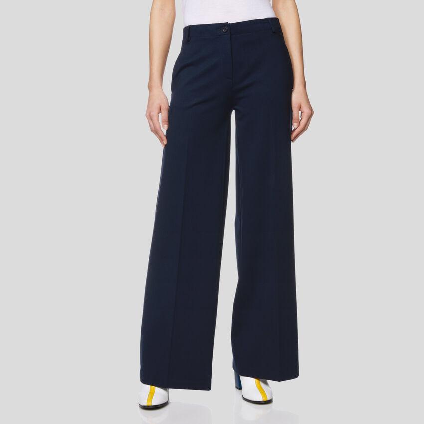 High waisted stretch pants