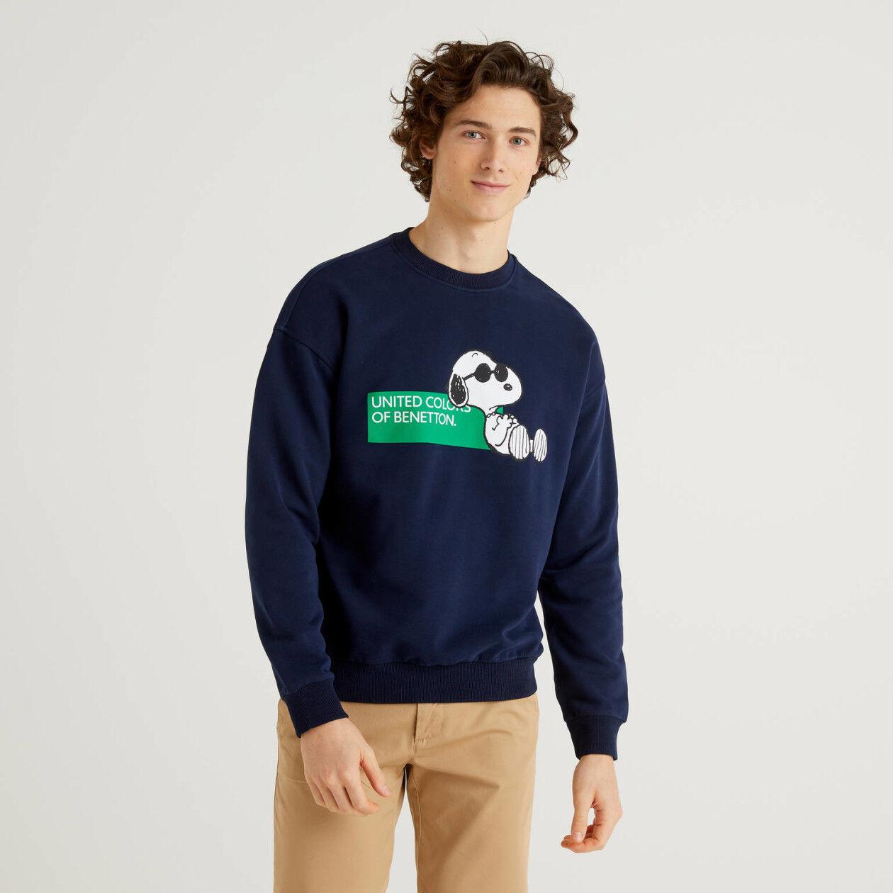 Peanuts sweatshirt in 100% organic cotton