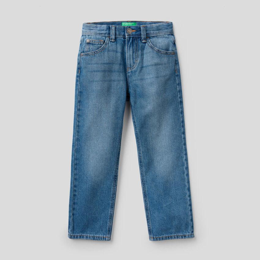 Five pocket regular fit jeans