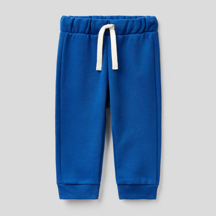 Sweatpants with embroidered logo
