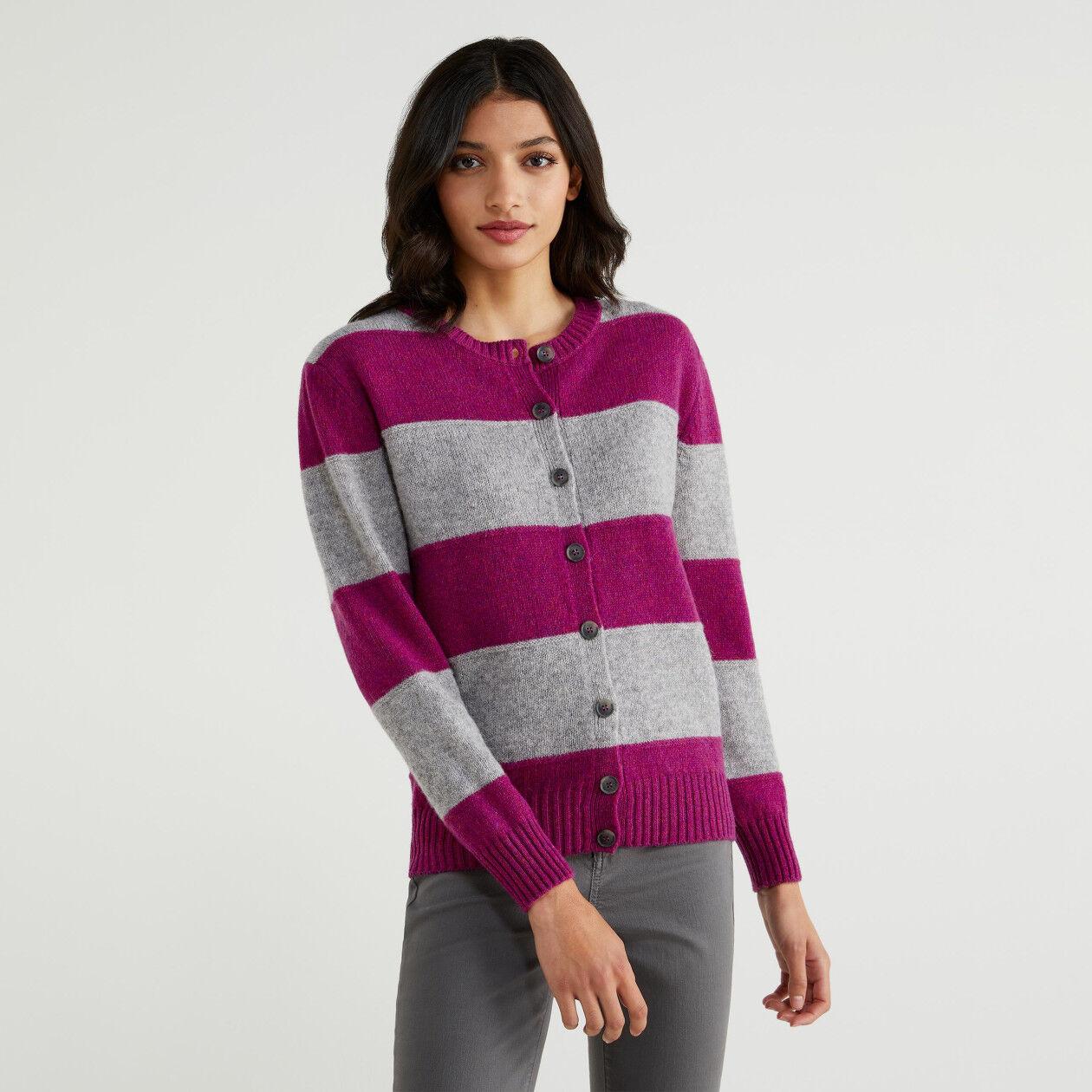 Cardigan in Shetland wool