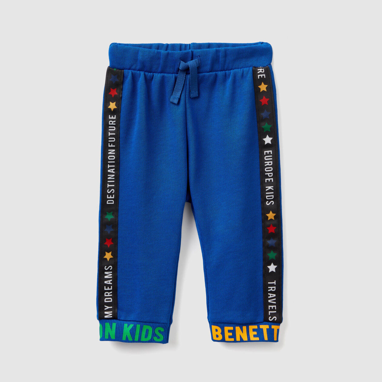 Sweatpants with writing