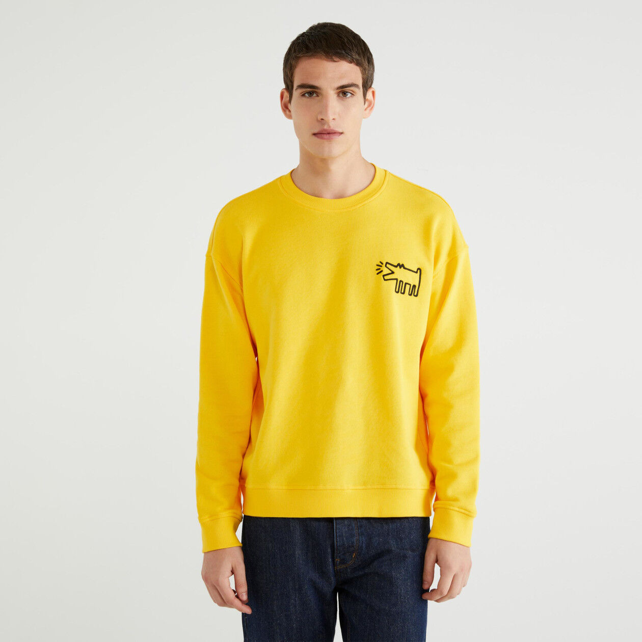 """Keith Haring"" crew neck sweatshirt"